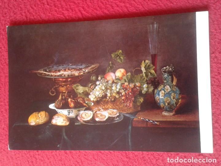 POST CARD MUSEO DEL PRADO MADRID F. YKENS 2757 MESA TABLE , SPAIN ED. ARTÍSTICAS OFFO, VER FOTO..... (Postales - Postales Temáticas - Arte)