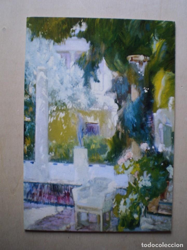 MUSEO SOROYA JARDIN CASA SOROYA (SOROYA) (Postales - Postales Temáticas - Arte)