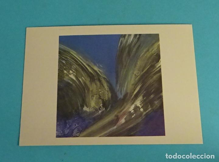 POSTAL OBRA DE TOTTE MANNES. EDITA DIRECCIÓN OBLIGATORIA. FORMATO 15 X 10,5 CM (Postales - Postales Temáticas - Arte)