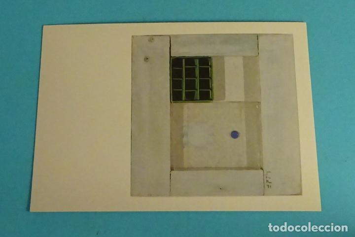 POSTAL OBRA DE MARUJA VICENTE. EDITA DIRECCIÓN OBLIGATORIA. FORMATO 15 X 10,5 CM (Postales - Postales Temáticas - Arte)