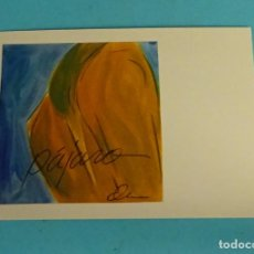 Postales: POSTAL OBRA DE STANLEY OLIVA. EDITA DIRECCIÓN OBLIGATORIA. FORMATO 15 X 10,5 CM. Lote 254641780