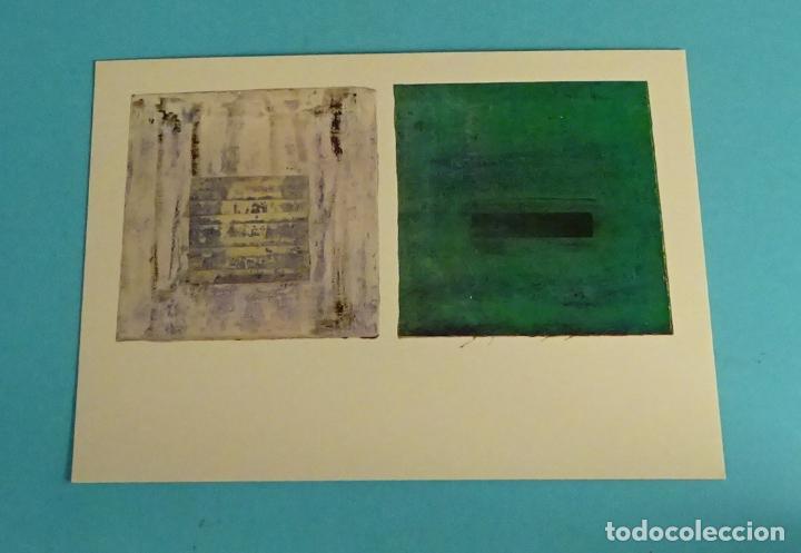 POSTAL OBRA DE TERESA PAJARES. EDITA DIRECCIÓN OBLIGATORIA. FORMATO 15 X 10,5 CM (Postales - Postales Temáticas - Arte)
