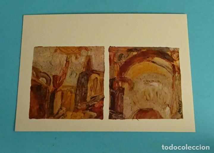 POSTAL OBRA DE ARCELLÓ. EDITA DIRECCIÓN OBLIGATORIA. FORMATO 15 X 10,5 CM (Postales - Postales Temáticas - Arte)