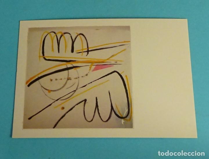 POSTAL OBRA DE F. SECO. EDITA DIRECCIÓN OBLIGATORIA. FORMATO 15 X 10,5 CM (Postales - Postales Temáticas - Arte)