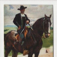Postales: CHARRO A CABALLO, SOROLLA -ESCUDO DE ORO, 1970-. Lote 254889220