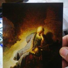 Cartes Postales: POSTAL REMBRANDT HARMENSZ VAN RIJN 1606-1669 JEREMÍAS TREURENDE OVER ONDERGANG VAN JERUSALEM S/C. Lote 258258345