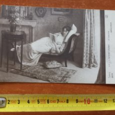 Postales: POSTAL OBRA L. BARBUT LABRAY, LA SIESTE Nº2676 SALNO PARÍS. A. N.. Lote 258520030
