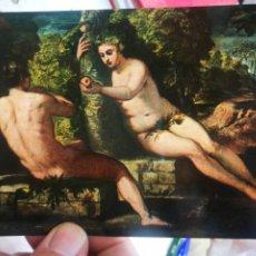 Cartes Postales: POSTAL JACOPO ROBUSTI DETTO IL TINTORETTO 1518-1594 ADAMO ED EVA S/C. Lote 258769890