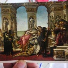 Cartes Postales: POSTAL FIRENZE GALLERÍA UFFIZI SANDRO BOTTICELLI LA CALUMNIA DI APELLE S/C. Lote 258774155