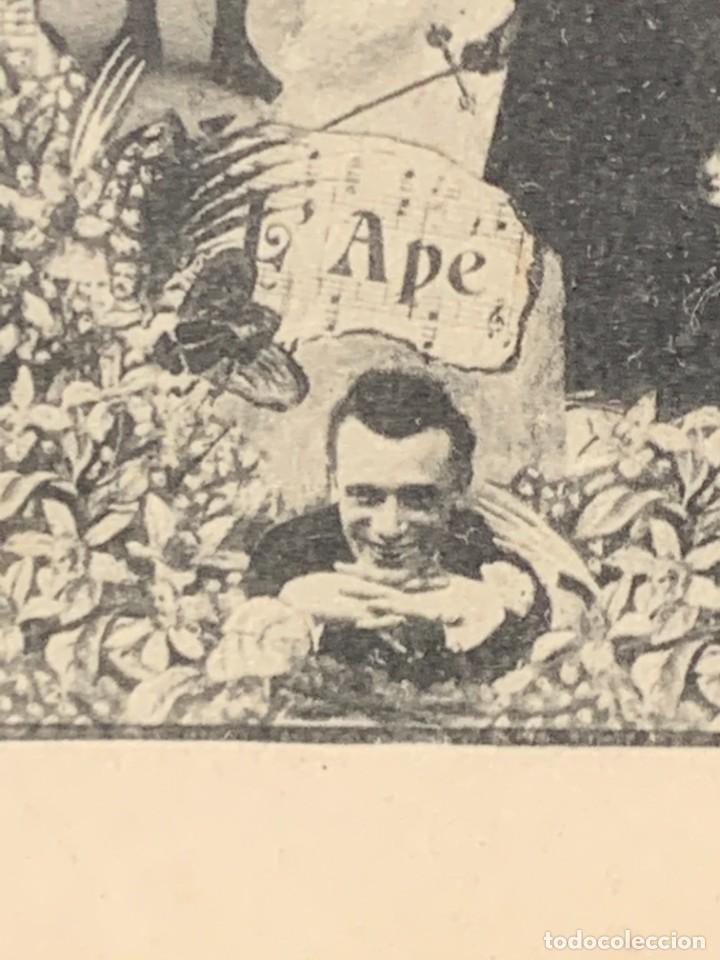 Postales: POSTAL COMICOS TROUPE COMEDIANTES ARTISTAS PREGOLI CONDO QUADRO SANTOS DUMONT - Foto 4 - 258930275