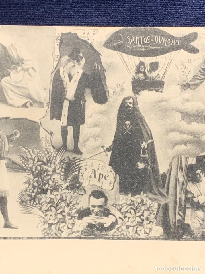Postales: POSTAL COMICOS TROUPE COMEDIANTES ARTISTAS PREGOLI CONDO QUADRO SANTOS DUMONT - Foto 6 - 258930275