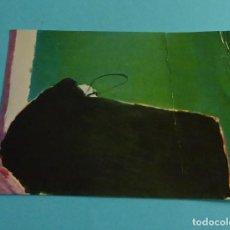 Postales: POSTAL INAGURACIÓN EXPOSICIÓN ÓLEOS DE JOSÉ GUERRERO EN LA GALERÍA PUNTO DE VALENCIA. Lote 259281140