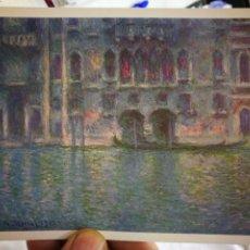 Cartes Postales: POSTAL CLAUDE MONET 1840-1926 PALAZZO DA MULA VENICE NATIONAL GALLERY OF SRT WASHINGTON S/C. Lote 259312570