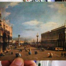 Cartes Postales: POSTAL VENEZIA PIAZZETTA S. MARCO CANALETTO 1697-1768. Lote 260029795