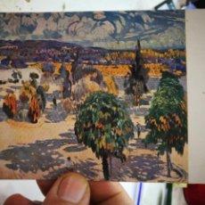Cartes Postales: POSTAL JOAQUÍN MIR CEL DE TRONOS MUSEO DE ARTE Y ARQUEOLOGIA DE BARCELONA EDITA THOMAS S/C. Lote 260041570