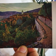 Cartes Postales: POSTAL SANTIAGO RUSIÑOL CAPVESPRE MUSEO D ART DE CATALUNYA EDITA THOMAS S/C. Lote 260042210