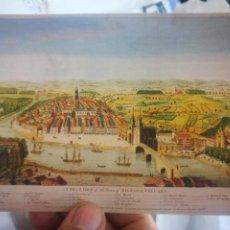 Postales: POSTAL ESTAMPAS DE BILBAO SIGLOS XVI-XIX. Lote 260585325