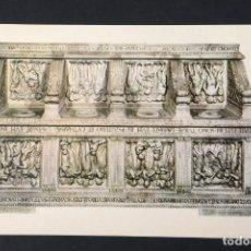Postales: POSTAL MUSEO DE SANTA MARIA DEL FIORE FIRENZE OBRAS DE ARTE, LUCA DELLA ROBBIA, SIN CIRCULAR. Lote 261673065