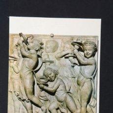 Postales: POSTAL MUSEO DE SANTA MARIA DEL FIORE FIRENZE ARTE, CANTORIA DE LUCA DELLA ROBBIA, SIN CIRCULAR. Lote 261673305