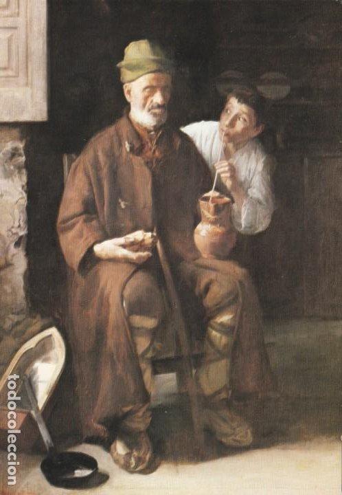 POSTAL - PINTURA - LUIS MENENDEZ PIDAL - MUSEO DE BELLAS ARTES ASTURIAS - ED IMPR MERCANTIL 1981 (Postales - Postales Temáticas - Arte)