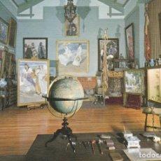 Postales: POSTAL - PINTURA - JOAQUIN SOROLLA - EL ESTUDIO DEL PINTOR - MUSEO SOROLLA -Nº 25 ED ESCUDO ORO 1970. Lote 262011895