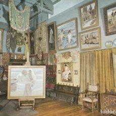 Postales: POSTAL - PINTURA - JOAQUIN SOROLLA - EL ESTUDIO DEL PINTOR - MUSEO SOROLLA -Nº 24 ED ESCUDO ORO 1970. Lote 262011950