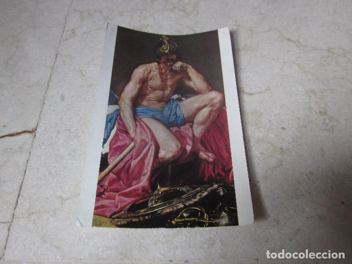 POSTAL EL DIOS MARTE - VELAZQUEZ - MUSEO DEL PRADO - EDICIONES DE ARTE OFFO 1961 (Postales - Postales Temáticas - Arte)