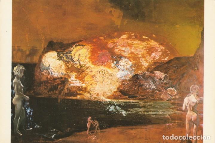 POSTAL - PINTURA - SALVADOR DALI - CAP DE CREUS AMB NUS - MUSEU DALI - ED DASA - 1979 NUEVA - (Postales - Postales Temáticas - Arte)