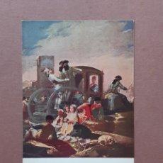 Postales: POSTAL 1014 EDICIONES VICTORIA. N. COLL SALIETI. EL CACHARRERO. GOYA. MUSEO DEL PRADO. SIN CIRCULAR.. Lote 262260545