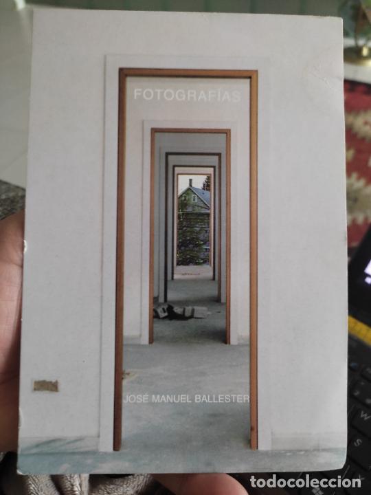 JOSE MANUEL BALLESTER 2000 TARJETON INAUGURACION ARTE GALERIA ESTIARTE 19,5 X 13,5 CM APROX (Postales - Postales Temáticas - Arte)
