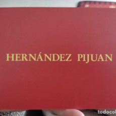 Postales: HERNANDEZ PIJUAN TARJETON ARTE EXPOSICION 1995 INAUGURACIÓN GALERIA SOLEDAD LORENZO 19,5 X 13,5 CM. Lote 262736495