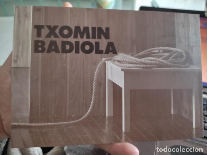 TXOMIN BADIOL TARJETON ARTE EXPO 1995 INAUGURACIÓN GALERIA S LORENZO 19,5 X 13,5 CM DEPERFECTO (Postales - Postales Temáticas - Arte)