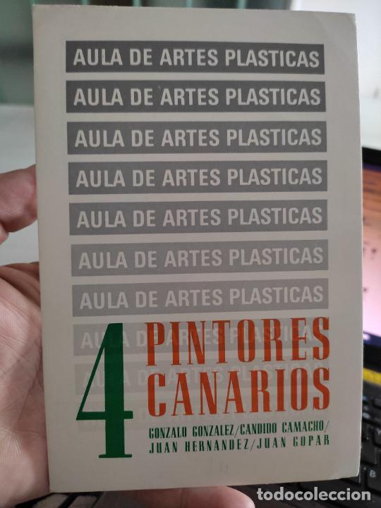 CUATRO PINTORES TARJETON ARTE EXPO 1983 INAUGURACIÓN GALERIA UCM 18 X 12 CM (Postales - Postales Temáticas - Arte)