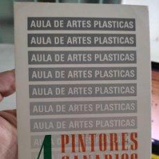Postales: CUATRO PINTORES TARJETON ARTE EXPO 1983 INAUGURACIÓN GALERIA UCM 18 X 12 CM. Lote 262751105