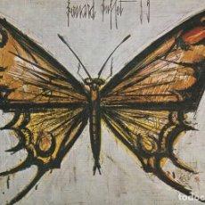 Postales: POSTAL - BERNARD BUFFET - PAPILLON - COLECCION MAURICE GARNIER - Nº 220 ED BRAUN PARIS 1962 NUEVA. Lote 263095350