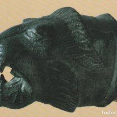 Postales: POSTAL - CAP DE PANTERA ETRUSC BRONZE -Nº 247 MUSEU ARQUEOLOGIC - BARCELONA ED FABREGAT 1983 -NUEVA. Lote 263286555