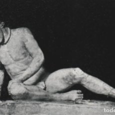 Postales: POSTAL - GLADIADOR MORIBUNDO - ANONIMO OBRA HELENISTICA - MUSEO CAPITOLINO ROMA -ED ESTAMPERIA 1970. Lote 263301410