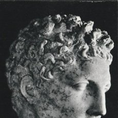 Postales: POSTAL - PRAXITELES - CABEZA DE HERMES -OBRA HELENISTICA - MUSEO OLIMPIA GRECIA -ED ESTAMPERIA 1969. Lote 263304350