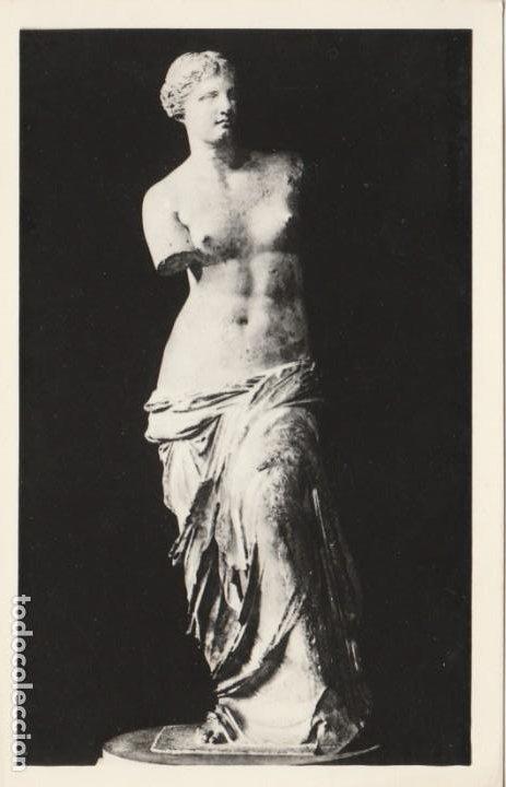 POSTAL - LA VENUS DE MILO - MUSEO DEL LOUVRE PARIS - Nº 26 -ED ESTAMPERIA DE ARTE - NUEVA (Postales - Postales Temáticas - Arte)