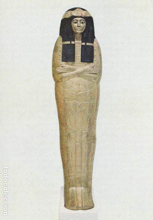 POSTAL - HENUTMEHIT - SACERDOTISA - MOMIA - THE BRITISH MUSEUM - LONDRES -Nº 48001 -AÑO 1976 - NUEVA (Postales - Postales Temáticas - Arte)