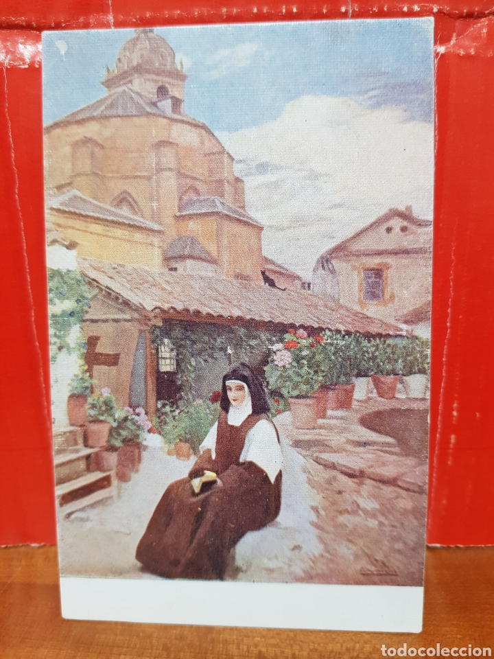 POSTAL ANTIGUA - RECUERDO DE AMOR EDICIONES VICTORIA N°381 (Postales - Postales Temáticas - Arte)