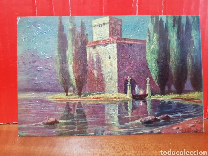 POSTAL ANTIGUA - W. MERKER ULTIMO VIAJE N°639 AÑOS 40 (Postales - Postales Temáticas - Arte)