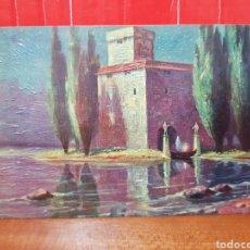 Postales: POSTAL ANTIGUA - W. MERKER ULTIMO VIAJE N°639 AÑOS 40. Lote 264435894