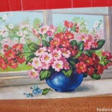 Postales: POSTAL ANTIGUA - FLORES - STZ.F. N°251 AÑOS 30. Lote 264437194