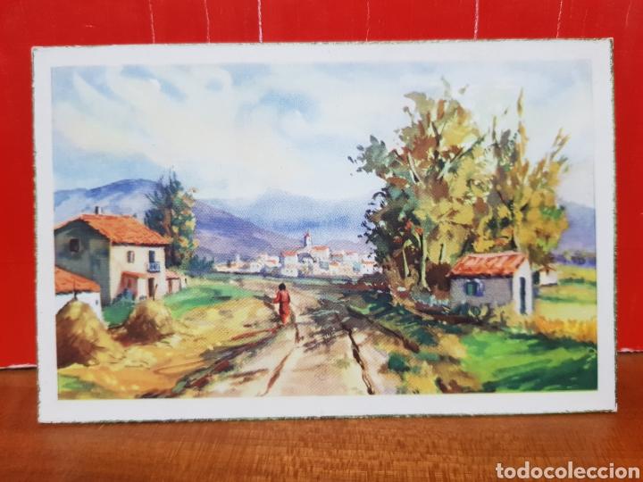 POSTAL ANTIGUA - ARTE - AÑOS 50 C.Y.Z. 590 (Postales - Postales Temáticas - Arte)