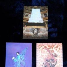 Postales: 15 POSTALES INVITACIONES DEL MUSEO DE LS ANGELES. LEER DESCRIPCIÓN ANTES DE PUJAR.. Lote 265551204