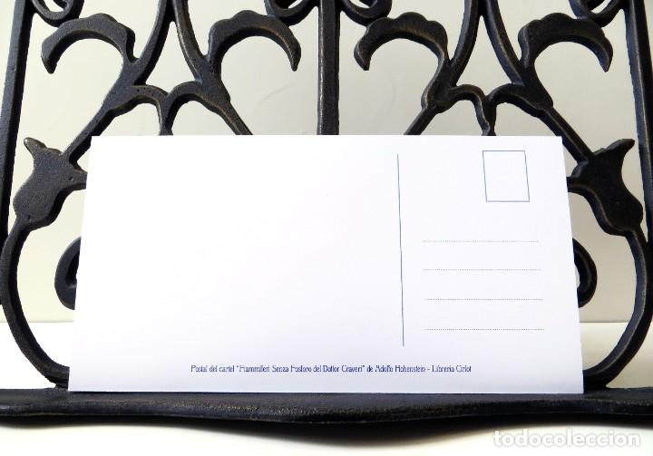 Postales: Postal del cartel Fiammiferi Senza Fosforo, de Adolfo Hohenstein. Tema: Pintura, Modernismo, Arte. - Foto 4 - 238660015