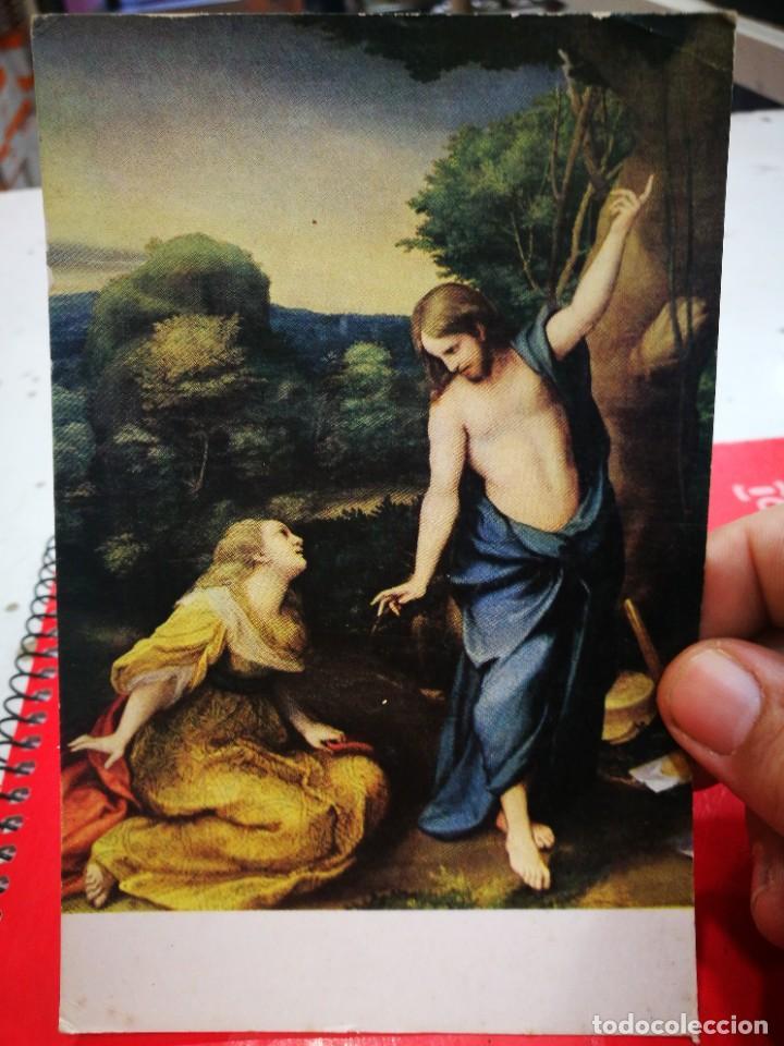 POST. CORREGIO 1493 - 1534 NOLI ME TANGENTE MUSEO DEL PRADO S/C ESQUINAS PELÍN TOCADAS (Postales - Postales Temáticas - Arte)