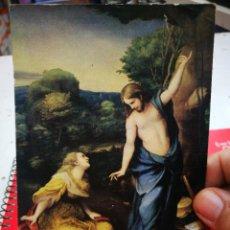 Postales: POST. CORREGIO 1493 - 1534 NOLI ME TANGENTE MUSEO DEL PRADO S/C ESQUINAS PELÍN TOCADAS. Lote 268884309
