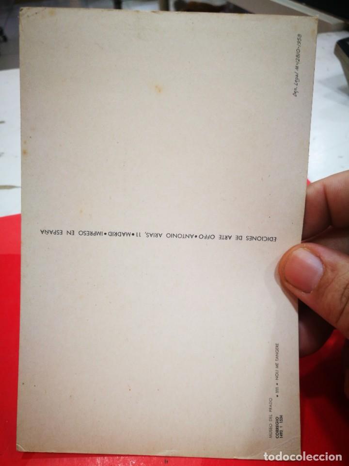 Postales: Post. CORREGIO 1493 - 1534 Noli me Tangente MUSEO DEL PRADO S/C Esquinas pelín tocadas - Foto 2 - 268884309